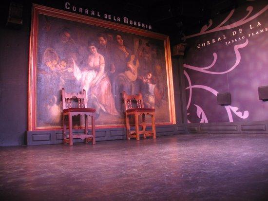 Corral de la Moreria: это вид сцены после шоу