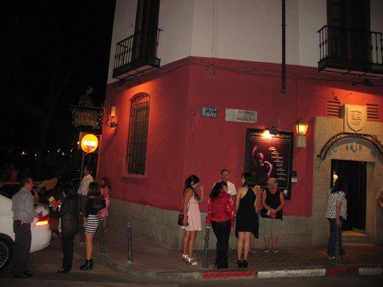 Corral de la Moreria: вид снаружи