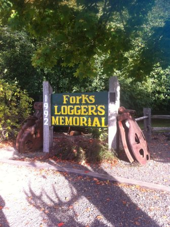 Forks Timber Museum : Museum sign
