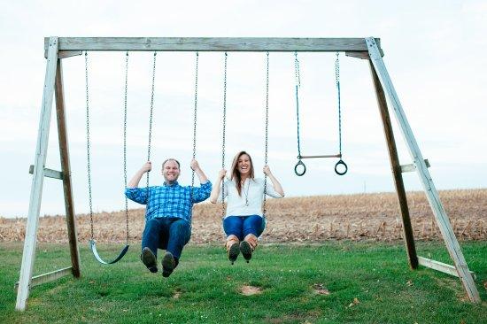 Mount Joy, PA: Swingset.