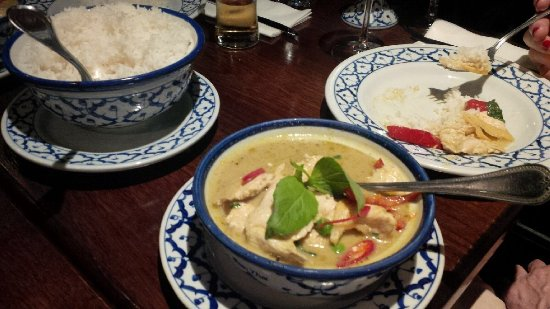 Baan Thai Ballsbridge: Green curry