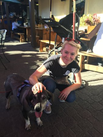 Uncle Uli's Pub: Vanessa is so sweet to our Dog Missy  very pet friendly