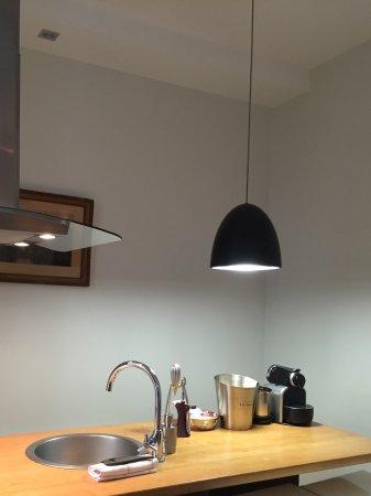 Helzear Montorgueil: المطبخ