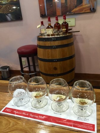 Loretto, KY: Makers Mark tour and complex.  Learn the history behind your whisky.