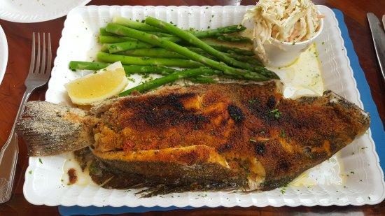 Island Park, NY: fried fish