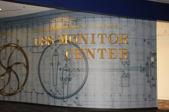 The Mariners' Museum & Park: Entrance to the Monitor Center