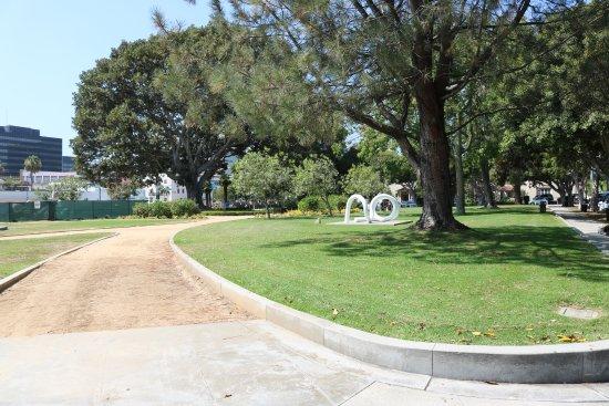 Beverly Gardens Park - Beverly Hills, Califórnia / USA