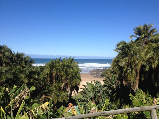 Mazeppa Bay, South Africa: View from the hotel