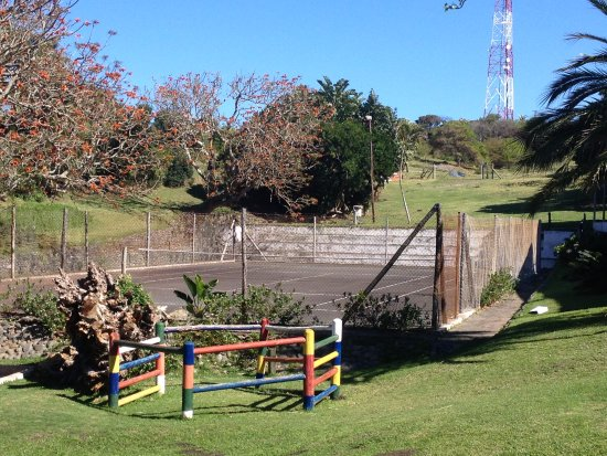 Mazeppa Bay, South Africa: Tennis court