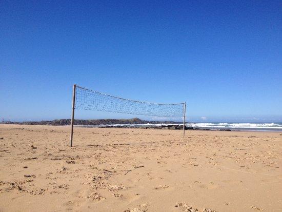 Mazeppa Bay, South Africa: beach volleyball