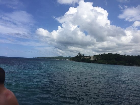 Cool Runnings Catamaran Cruises Jamaica: Day trip snorkelling and dunns river falls via catamaran   Staff were full of life and fun  Very