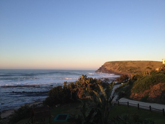 Morgan's Bay, Sydafrika: View to the right of room