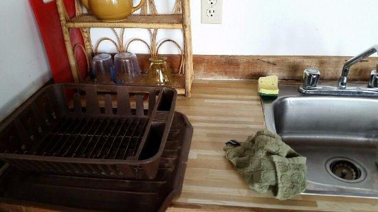 Saturna Island, Kanada: Kitchen