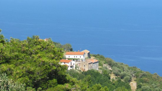 Plomin, Kroatia: View from the Restaurant