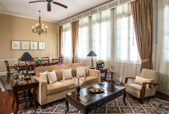 Raffles Hotel Le Royal: Suite: Le Royal Suite - Living Room
