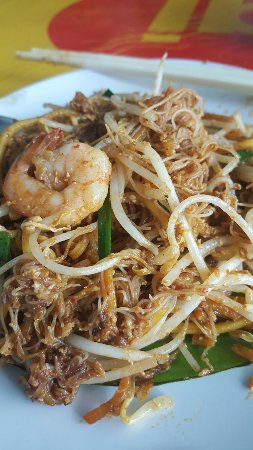 Red Planet Hat Yai : Best hokkien mee and fried noodles in Hatyai
