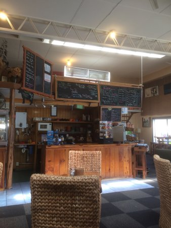 Murchison, New Zealand: Salubrious cafe