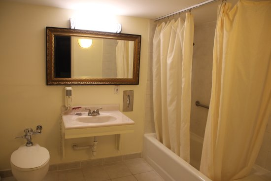 Bedford Plaza Hotel: Suite Bathroom