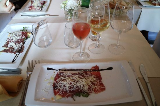 Kastav, โครเอเชีย: carpaccio boskarin . please try it!
