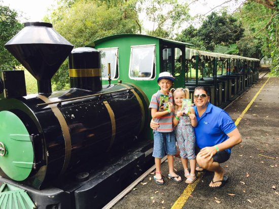 Nambour, Australien: Train ride down to the zoo area