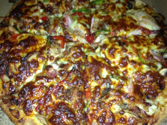 Wauchope, Αυστραλία: Roast Chicken Pizza 14th Aug 2016