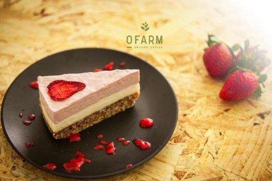 Brookvale, Austrália: Strawberry Raw Cake
