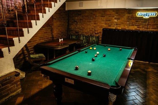 Kedainiai, Lituanie : good way to spend your free time :) private pool table for you and your friends