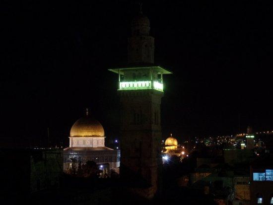 Ecce Homo Convent : View at night