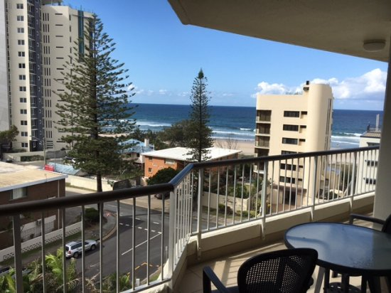 Surfers Beachside Holiday Apartments: View from the 6th Floor