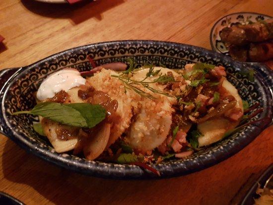 Borsch,Vodka & Tears: beef & chicken dumplings