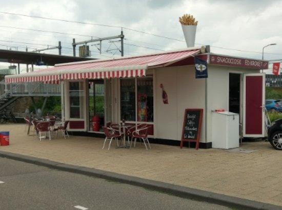 Breukelen, The Netherlands: Snack Kiosk Ed Kroket