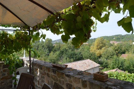 Les Assions, Francia: Vue de la terrasse