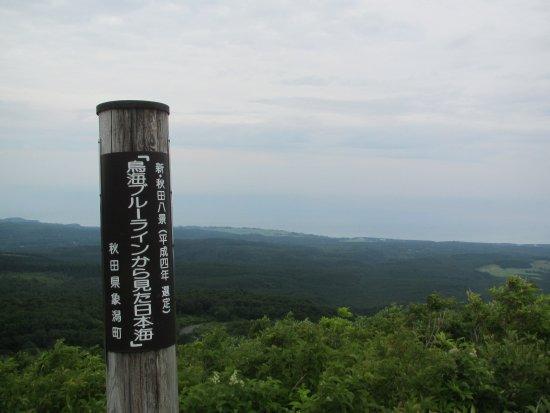 Yuza-machi, Japan: 鳥海ブルーラインより