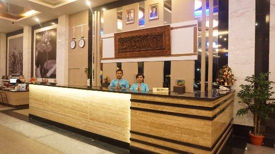 Bintan Agro Beach Resort: Welcome Greeting