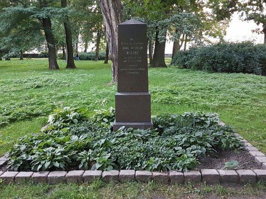 Gedenkstein für Carl Wilhelm Wiecke