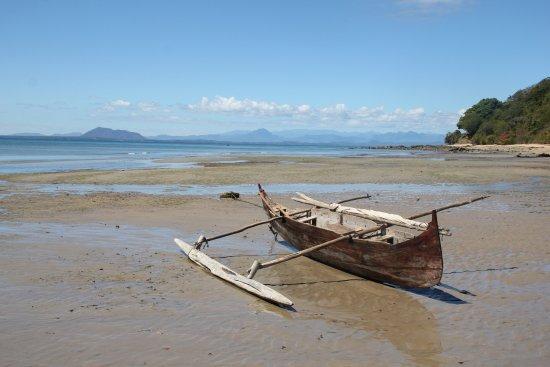 Doany Beach: La plage de Doany a maree basse