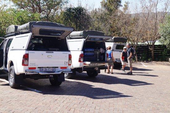 Rivonia, Sør-Afrika: Plenty of parking space