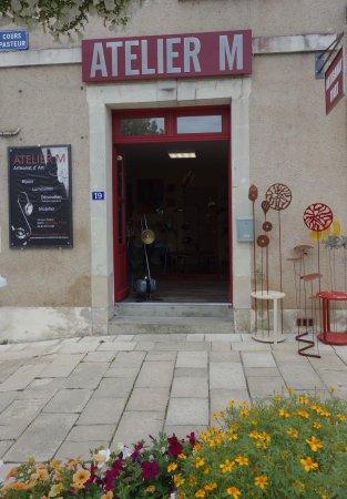 La Roche-Posay, Francia: Extérieur de la boutique