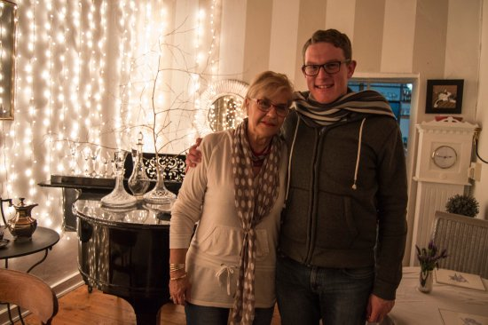 McGregor, Zuid-Afrika: The owner Jill and I