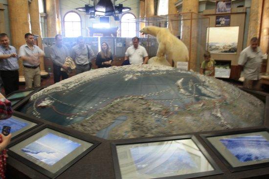 Российский государственный музей Арктики и Антарктики: В музее есть элементы интерактивности