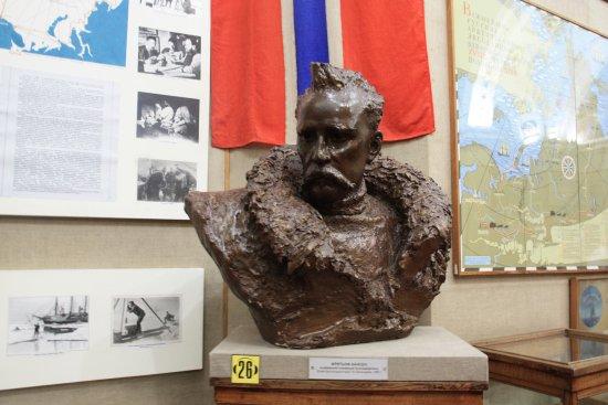 Российский государственный музей Арктики и Антарктики: Герой-полярник, но не наш, а норвежский- Фритьоф Нансен.