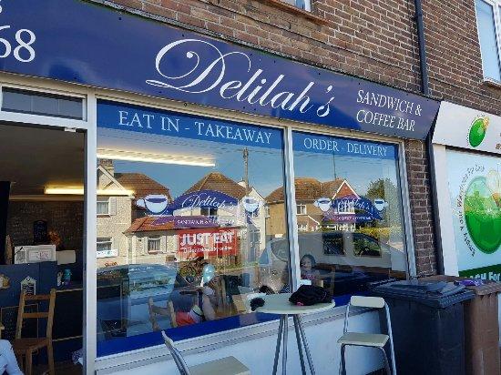 Rustington, UK: Delilah's Sandwich and Coffee Bar