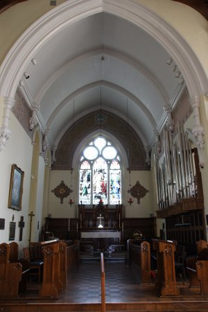 Cobourg, Canadá: Altar area