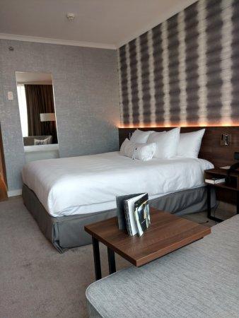 Rotterdam Marriott Hotel: 11th floor; executive room