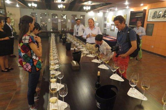 Hansen Wine Fazenda: Tasting with the French winemaker Bruno Paumard