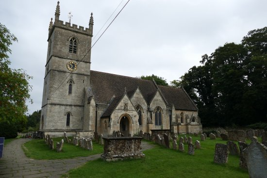 Bladon, UK: St. Martin's Church