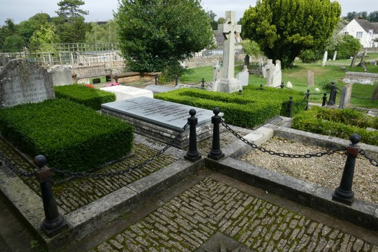 Bladon, UK: The family plot