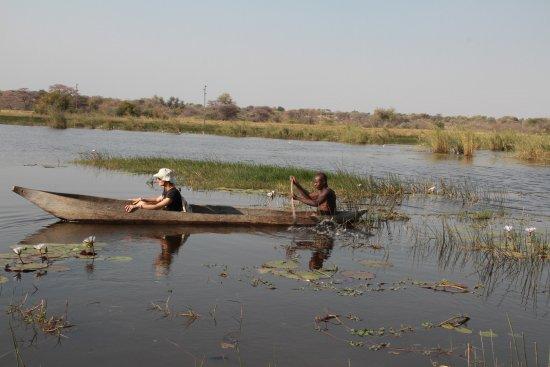 Rundu, Namibia: wyprawa łodzią