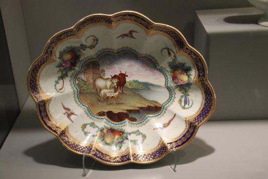 Gardiner Museum : 18th Century Worcester bowl