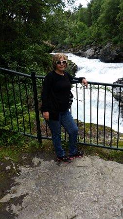 Bjorli, Noorwegen: מפל